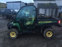 atv John Deere gator 855d with only 1403 hours like quad £9000ono