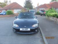 mazda mx5 sport 1999 an original car.only 3 owners,good useable example