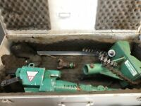 Spitznas pneumatic pipe cutting machine ATEX rated