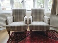 Armchairs in good used condition