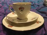 Antique coronation of the queen 1953 cup saucer plate immaculate condition