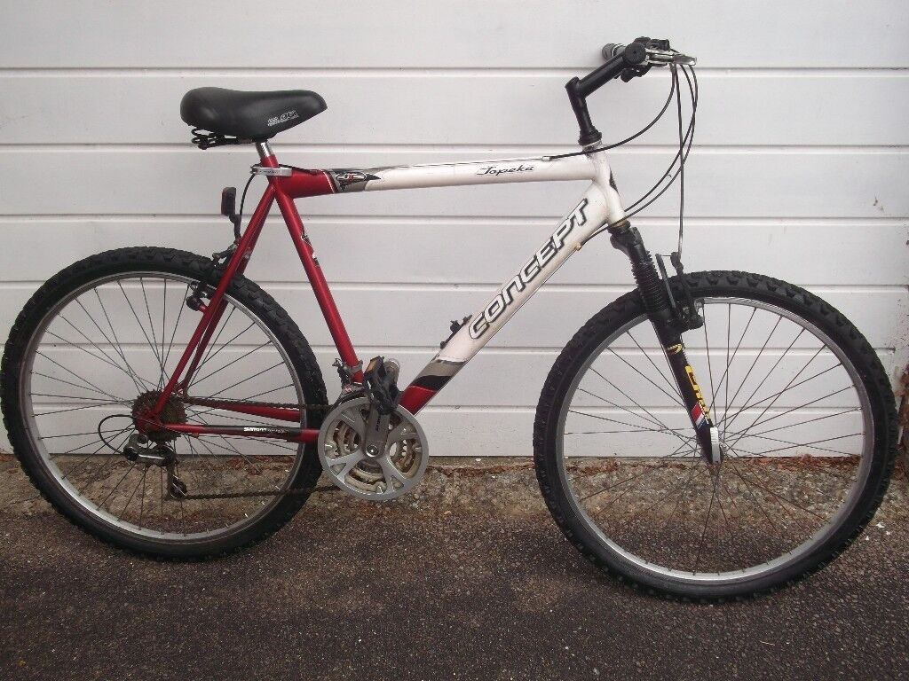 Mens Concept Topeka Mountain Bike front suspension little used