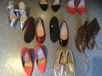 SELECTION OF SIZE 4 SHOES/BOOTS. MONEY for local cancer charity funds thanks 🙏 Jack/Louise.