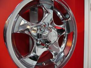 17 INCH CHROME  OFFROAD RIMS - NEW SALE 6X135 ORM