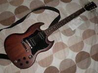 Lovely genuine Gibson SG guitar - with Gibson plush gig bag