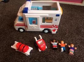 Wow ambulance playset