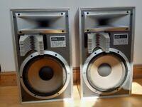 Jamo power 180T vintage hi-fi speakers - spares or repair