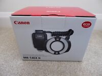 Canon MR-14EXII Macro Ring Lite BRAND NEW UK STOCK UNUSED LATEST VERSION
