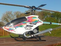 Hirobo Radio Controlled Helicopter in excellent condition.