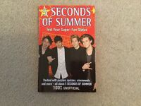 5 seconds of Summer Test Your Super Fan Status book