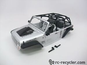 Axial Jeep 2012 1/10 Scale Wrangler Unlimited Body, Cage, Interior SCX10 AX04035