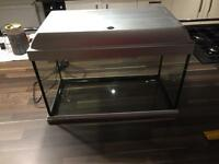 Fish tank with all accessories included