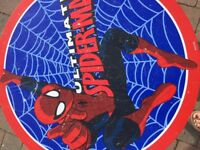 Kids spider man table and chairs