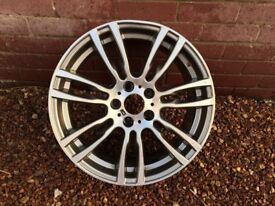 19 inch bmw m sport alloy for spares or repair