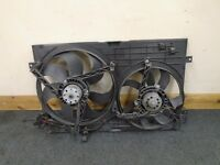 VW GOLF MK4 VW Bora Twin Radiator Fan and Housing 1J0 121 207 M 1J0121207M