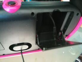 Barbie karaoke machine