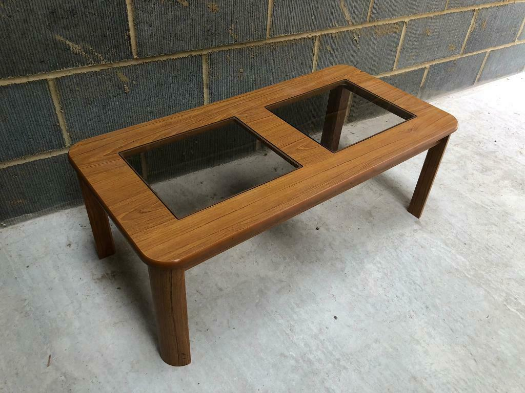 Amazing Vintage 1970S Wood Effect Coffee Table With Glass Top In Colchester Essex Gumtree Pdpeps Interior Chair Design Pdpepsorg