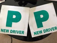 """P"" plates new driver"