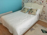 Double Bed with Headboard (Great Condition)