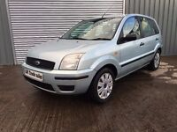 2004 FORD FUSION 1.4 DIESEL 5 DOOR *** LONG MOT *** similar to c3 polo corsa fiesta