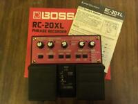 Boss RC20XL phrase recorder