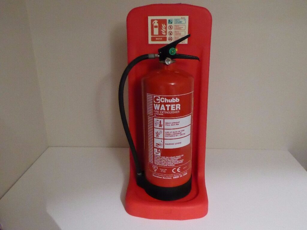 Chubb 9 Litre Water Fire Extinguisher