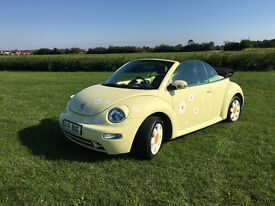 VW Beetle Convertible Cabriolet 2003 (53 plate) One Owner 37K miles Only