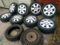 Ford Mondeo alloys and tyres (5stud)