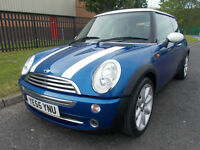 MINI COOPER 1.6 FULL SERVICE HISTORY 2 KEYS 12 MONTHS MOT* open 7 days by appointment *