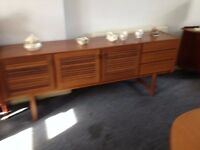 "VINTAGE LONG TEAK ""MACKINTOSH"" SIDEBOARD=VGC"