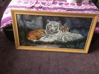 Large tiger/lion picture