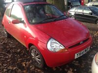 2001 Ford Ka 1.3 Sun collection red BREAKING FOR SPARES