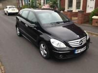 2008 57reg Mercedes B180 Cdi Automatic Black Good Runner