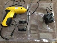 Cordless Electric Screwdriver with Torchlight