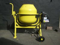 63 Litre Cement / Concrete Mixer