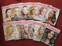 Psychologies Magazines 2013 x 12