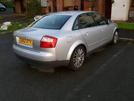 2002 Audi A4 1.9TDI Sport / 3 owners/ Full Service History / Low miles/ Long Mot/ £1200