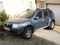 2014 DACIA DUSTER 1.5dCi 4WD LAUREATE, METALLIC SLATE GREY, 35000 MILES, FSH MOT JUN 2019