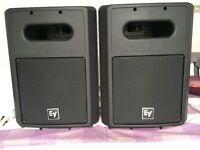 Electro Voice EV SB122 subs