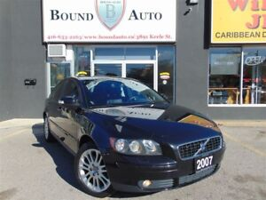2007 Volvo S40 2.4i-LEATHER|SUNROOF|H-SEATS|ALLOYS|POWER GROUP