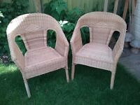 Wicker/Conservatory Chairs