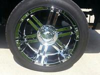 $$ REDUCED $$  Chrome 22's on new toyo proxy tires