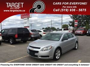 2011 Chevrolet Malibu LS 4Cyl Great on Gas, Drives Great and Mor