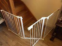 3-Part Safety Gate (White)