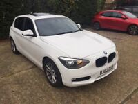 BMW 118D SE AUTO DIESEL SUNROOF HEATED SEATS 62 PLATE 120d