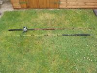 penn boat rod and shakespear rod with sm700 masterline reel