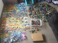 Lego HUGE 40KG+ bundle and Minifigures 100s RARE