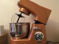 Copper coloured stand mixer 1200w