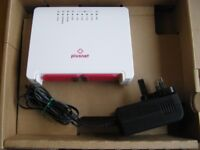 Plusnet 2704N router with adaptor