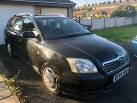 Toyota Avensis 2.0 D4D Diesel Estate Excellent Car Just Been Serviced!